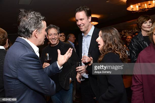 Steve Coogan attend PANDORA Jewelry and Moto X present Philomena at cinema prive at on December 3 2013 in West Hollywood California