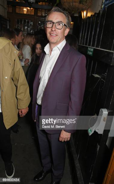 Steve Coogan attends a celebration of the Stella McCartney AW17 collection and film launch at Ye Olde Mitre on June 10 2017 in London England
