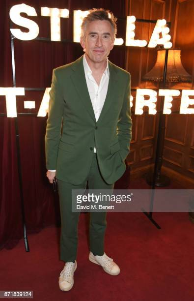 Steve Coogan attends a private dinner hosted by NETAPORTER and Stella McCartney to celebrate the launch of the Stella McCartney x NETAPORTER party...