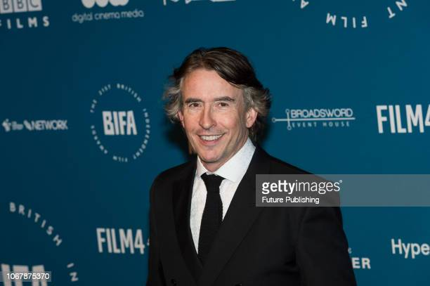 Steve Coogan attends the 21st British Independent Film Awards at Old Billingsgate in the City of London December 02 2018 in London United Kingdom