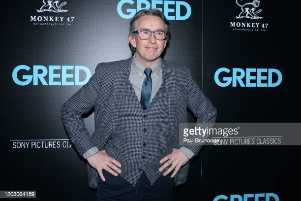 "Steve Coogan attends The Cinema Society & Monkey 47 Host A Special Screening Of Sony Pictures Classics' ""Greed"" at Cinepolis Chelsea on February 24,..."