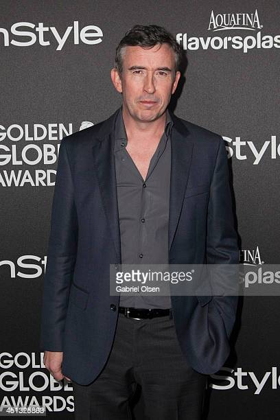 Steve Coogan attends The Hollywood Foreign Press Association And InStyle Celebrates The 2014 Golden Globe Awards Season at Fig Olive Melrose Place on...