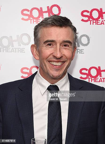 Steve Coogan attends the Soho Theatre Gala 2016 at The Vinyl Factory on March 10 2016 in London England