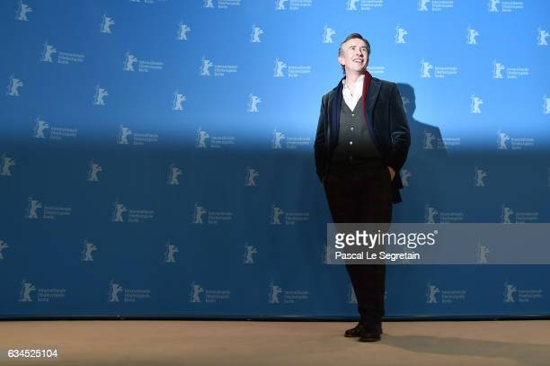 Steve Coogan attends the 'The Dinner' photo call during the 67th Berlinale International Film Festival Berlin at Grand Hyatt Hotel on February 10...