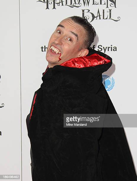 Steve Coogan attends The UNICEF Halloween Ball at One Mayfair on October 31 2013 in London England