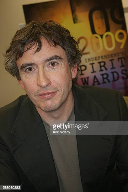 Steve Coogan British comic actor of 24 hour party people night at the museum Tropic Thunder and hamlet 2 fame is hosting the independent spirit...