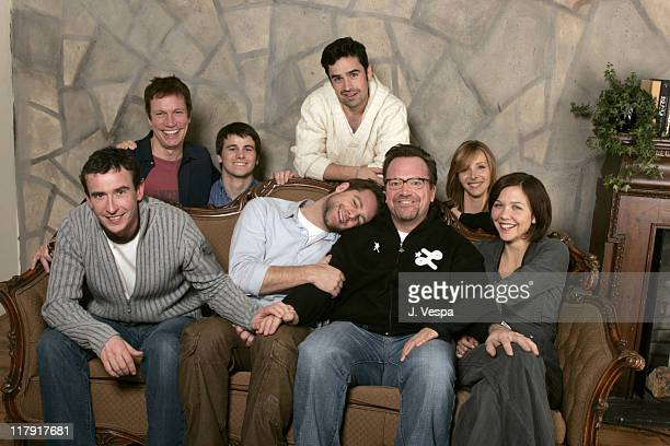 Steve Coogan David Sutcliffe Tom Arnold Maggie Gyllenhaal Don Roos director Happy Endings Jason Ritter Jesse Bradford and Lisa Kudrow