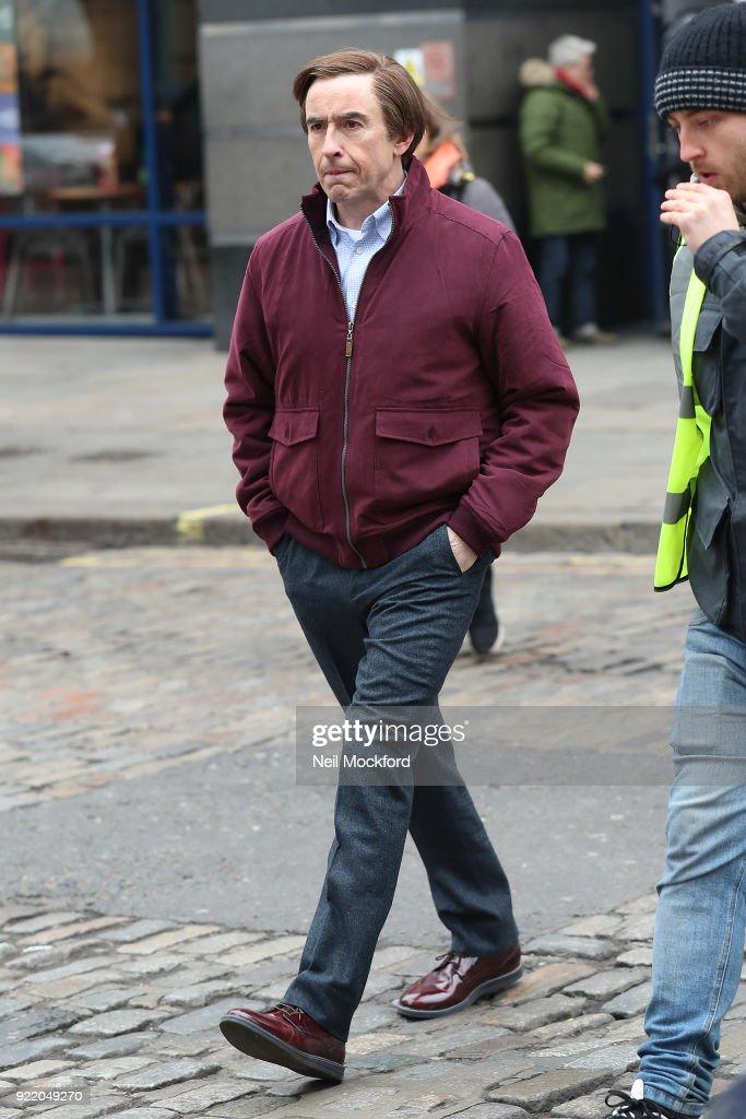 London Celebrity Sightings -  February 21, 2018 : News Photo