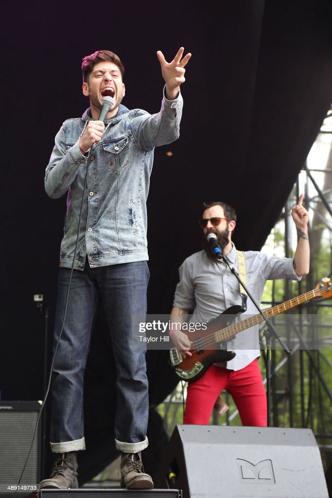 Steve Cooper and Paul Michel of Spirit Animal perform during the 2014 Sweetlife Music & Food Festival at Merriweather Post Pavillion on May 10, 2014 in Columbia, Maryland.