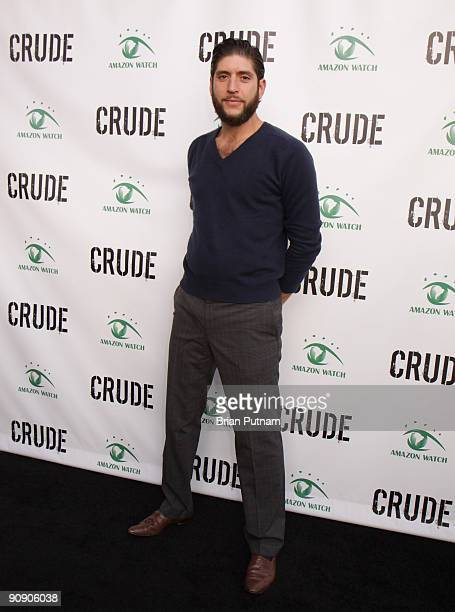 Steve Cooper musician in the band Spirit Animal arrives for the screening of the film 'CRUDE' at Harmony Gold Theatre on September 17 2009 in Los...
