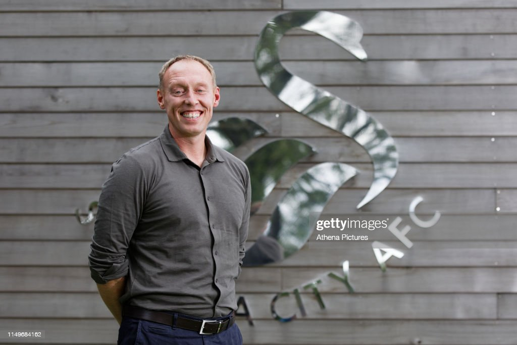 Swansea City Unveil New Manager Steve Cooper : News Photo