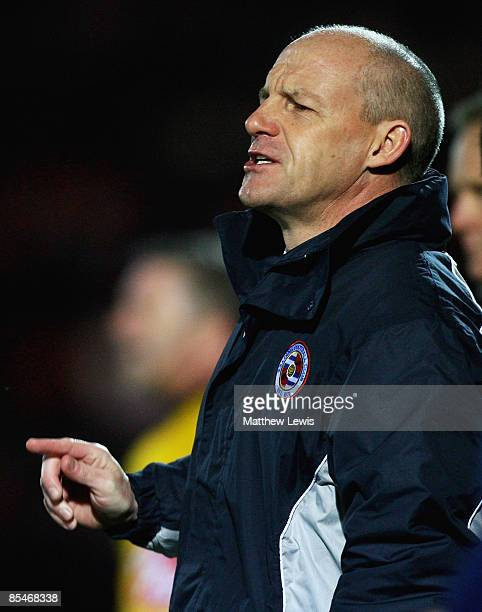 Steve Coppell manager of Reading takes charge of his 1000th game as a league manager during the CocaCola Championship match between Doncaster Rovers...