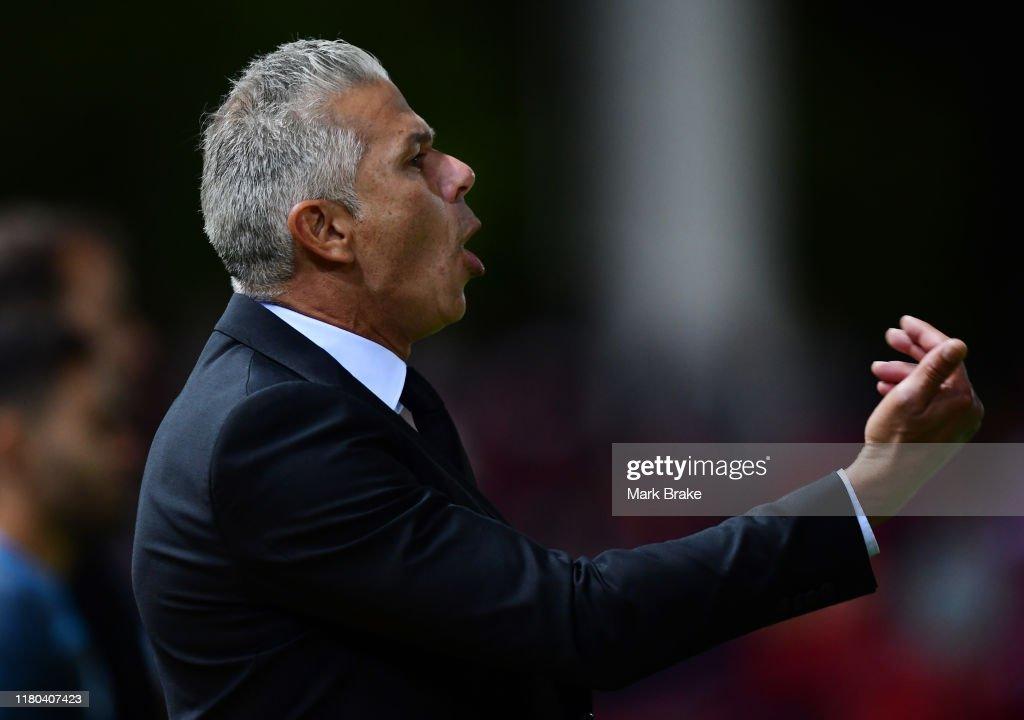 A-League Rd 1 - Adelaide v Sydney : News Photo