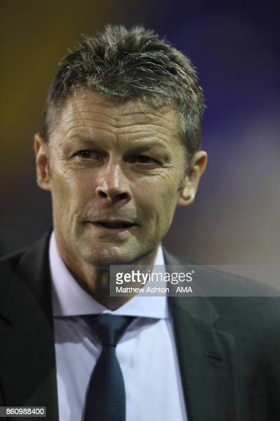Steve Cotterill the head coach / manager of Birmingham City during the Sky Bet Championship match between Birmingham City and Cardiff City at St...