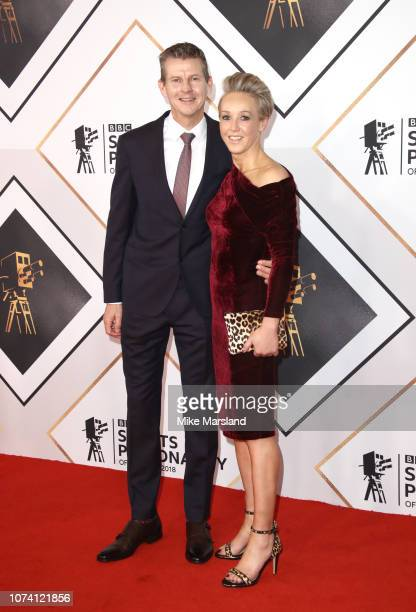 Steve Cram and Allison Curbishley attend the 2018 BBC Sports Personality Of The Year at The Vox Conference Centre on December 16 2018 in Birmingham...