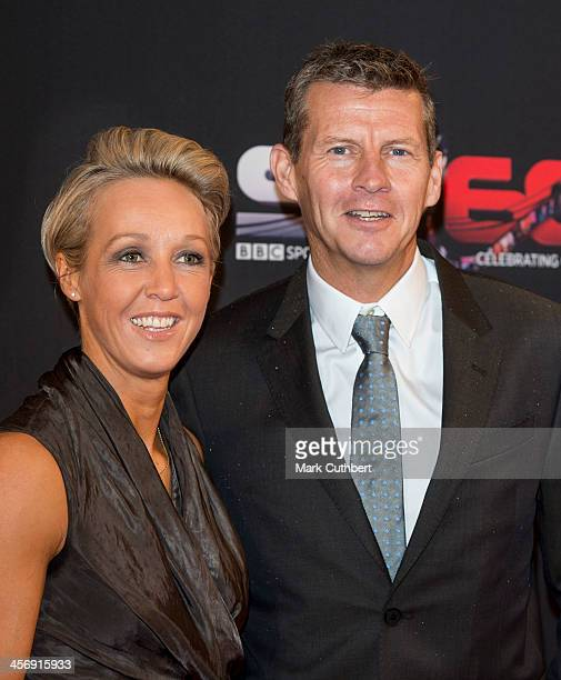 Steve Cram and Allison Curbishley attend the BBC Sports Personality of the Year Awards at First Direct Arena on December 15 2013 in Leeds England