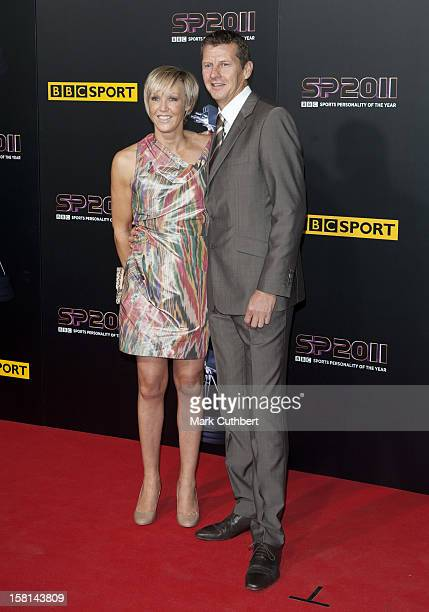 Steve Cram And His Partner Allison Curbishley Arriving For The Sports Personality Of The Year Awards 2011 At Mediacityuk Salford Manchester