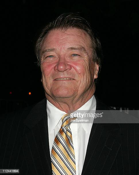 Steve Croft arrives at the 7th Annual Tribeca Film Festival Vanity Fair Party at the State Supreme Courthouse on April 22 2008 in New York City New...