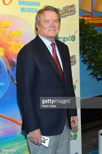 Steve Croft attends the Broadway premiere of 'Escape to Margaritaville' the new musical featuring songs by Jimmy Buffett at the Marquis Theatre on...