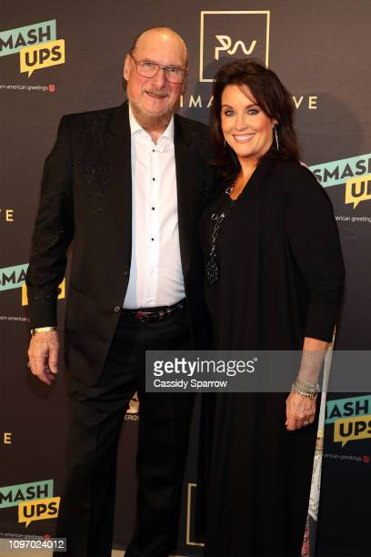 Steve Cropper and Angel Cropper attend Primary Wave 13th Annual PreGRAMMY Bash at The London West Hollywood on February 9 2019 in West Hollywood...