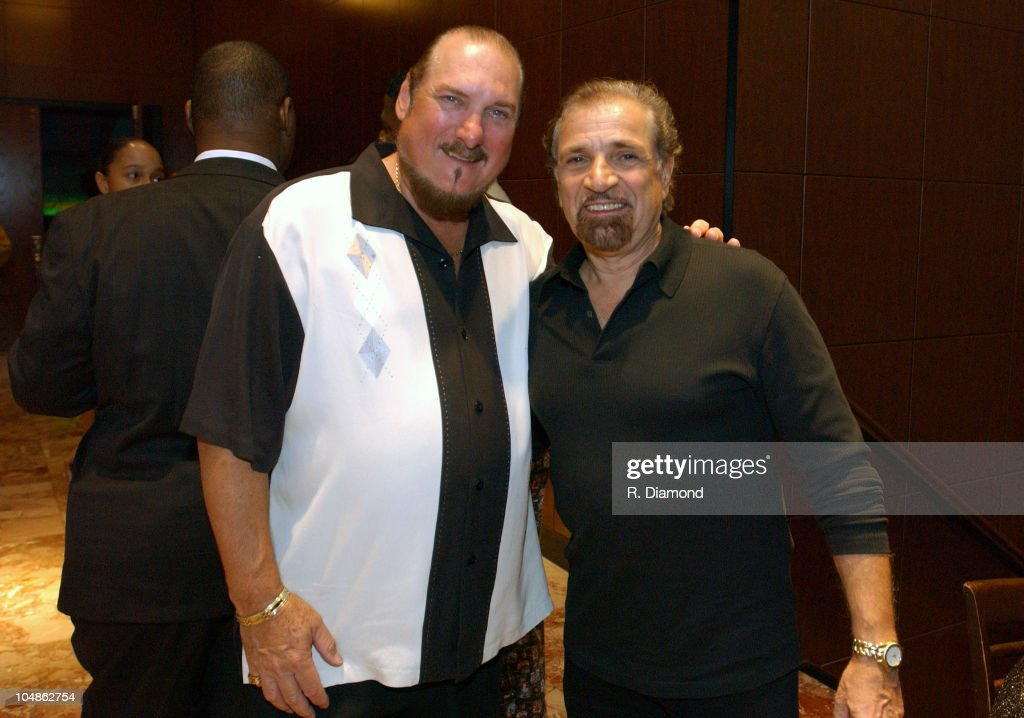 Steve Cropper and Felix Cavaliere during B.B. King Blues Club Grand Opening, Nashville-Night 2 in Nashville, TN, United States.