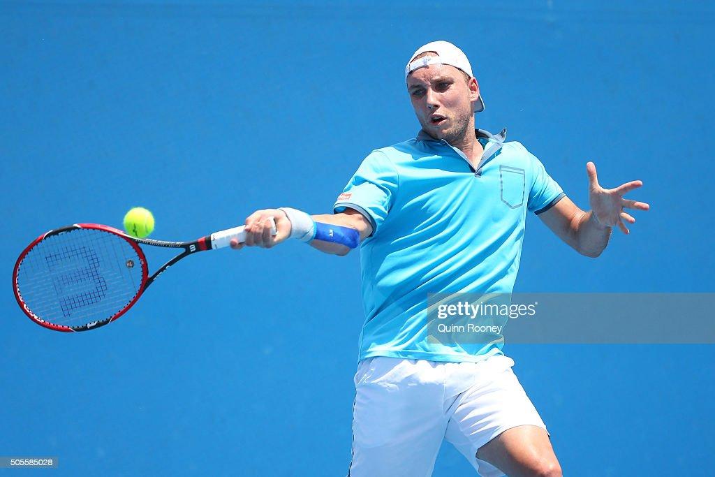2016 Australian Open - Day 2 : News Photo