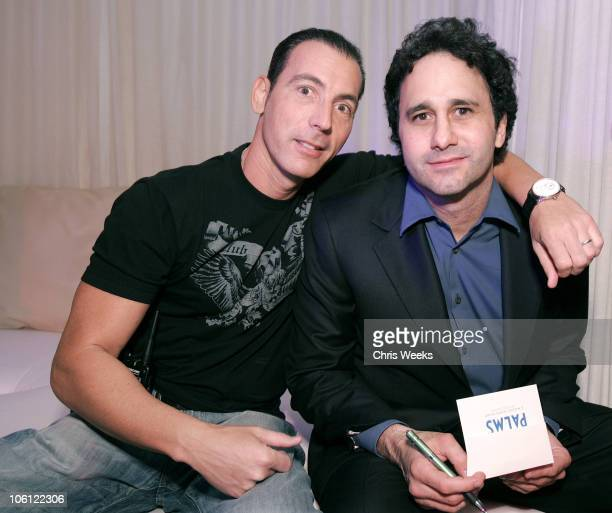 Steve Davidovici and George Maloof during Pure Nightclub Hosts Nicky Hilton's Birthday Party Inside at Pure Nightclub in Las Vegas California United...