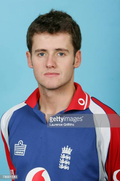 Steve Davies of England A during a photocall for the England A And Under 19 Cricket squads at The ECB Cricket Academy on January 11 2007 in...
