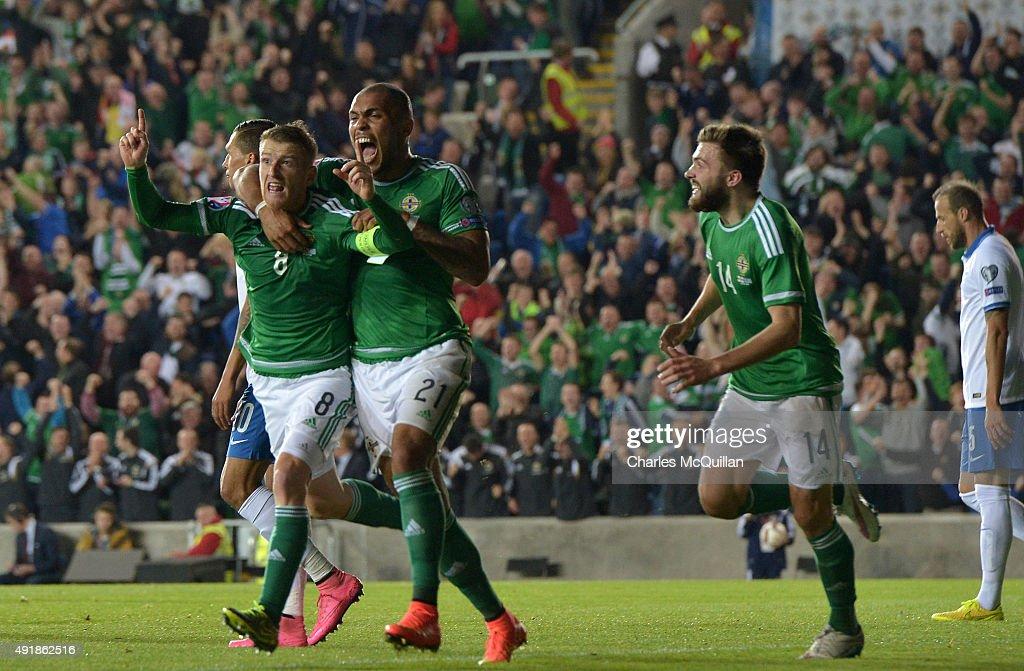 Northern Ireland v Greece - UEFA EURO 2016 Qualifier : ニュース写真