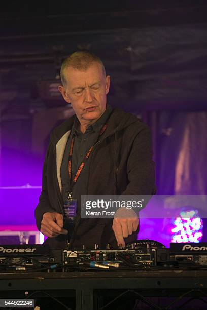 Steve Davis performs at CastlePalooza at Charville Castle on July 2, 2016 in Tullamore, Ireland.