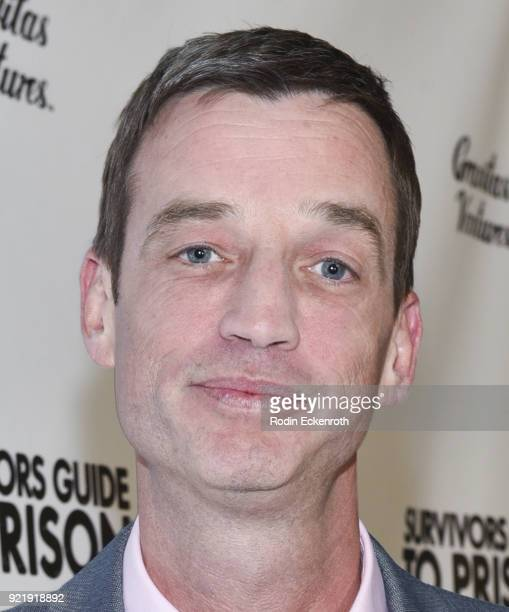 Steve Devore attends the premiere of Gravitas Pictures' 'Survivors Guide To Prison' at The Landmark on February 20 2018 in Los Angeles California