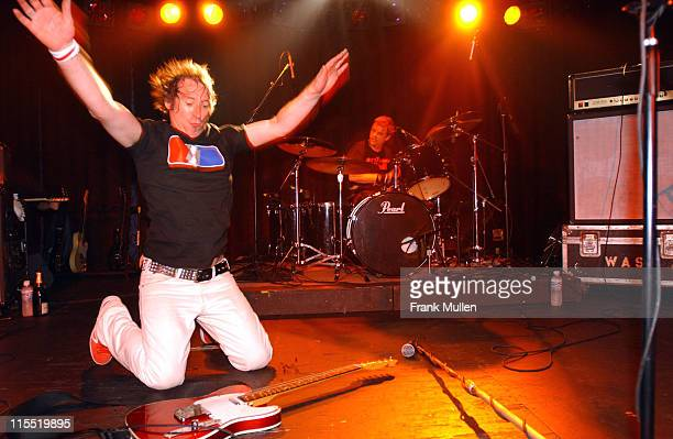 Steve Diggle during Buzzcocks In Concert In Atlanta July 16 2003 at Cotton Club in Atlanta Georgia United States