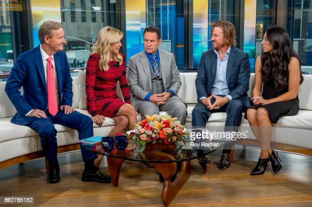 Steve Doocy Ainsley Earhardt and Brian Kilmeade discuss the book Capital Gaines and the ending of the show Fixer Upper with Chip and Joanna Gaines as...