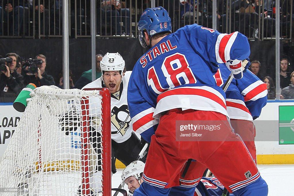 Pittsburgh Penguins v New York Rangers - Game Five