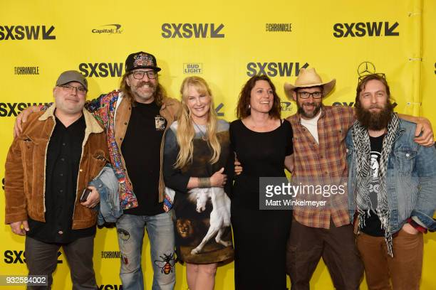 Steve Drymalski Schmoo Schmidt Daryl Hannah Dulcie Ford Charris Ford and Adam 'CK' Vollick attend the Paradox Premiere 2018 SXSW Conference and...
