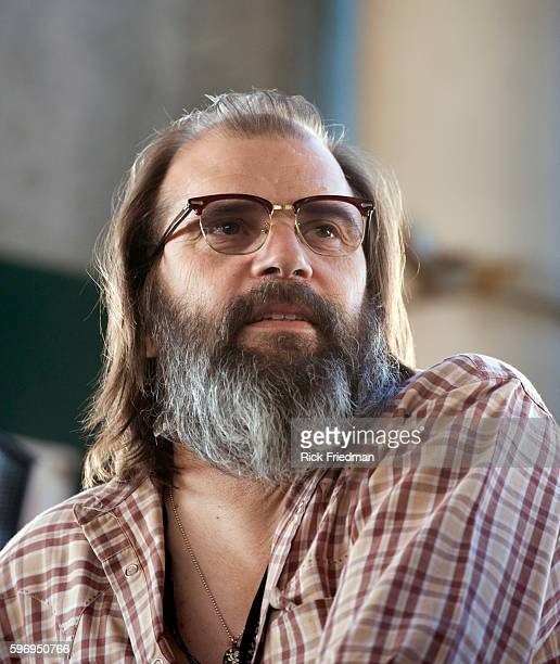 Steve Earle at the Farm Aid concert at the Comcast Center in Mansfield