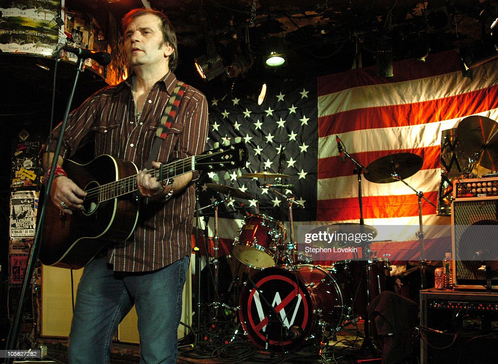 Steve Earle Performs at CBGB's on Election Night - November 2, 2004