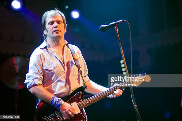 Steve Earle guitar and vocals performs at the Paradiso on November 7th 2004 in Amsterdam Netherlands