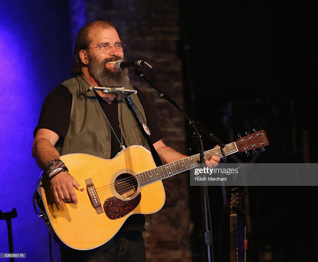 Steve Earle of Covin & Earle preforms during Sirius Presents Steve Earle & Shawn Colvin at City Winery on June 10, 2016 in New York City.