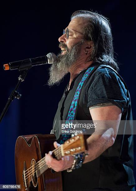 Steve Earle performs at Ryman Auditorium on September 21 2016 in Nashville Tennessee