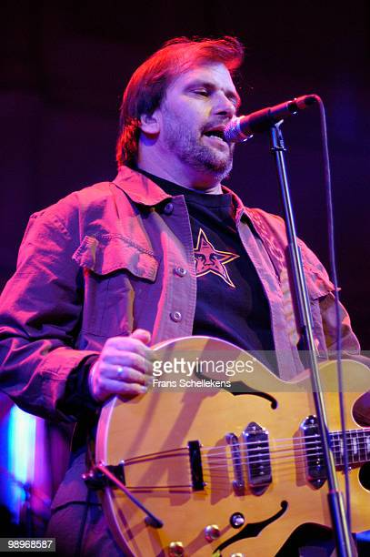 Steve Earle performs live on stage at Paradiso in Amsterdam, Netherlands on April 12 2003