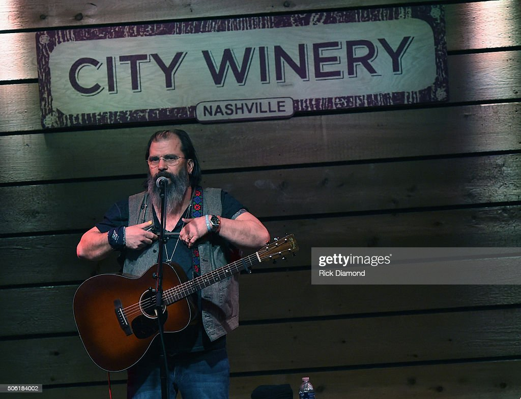 Steve Earle Residency at City Winery Nashville - 3 of 4 at City Winery Nashville on January 21, 2016 in Nashville, United States.