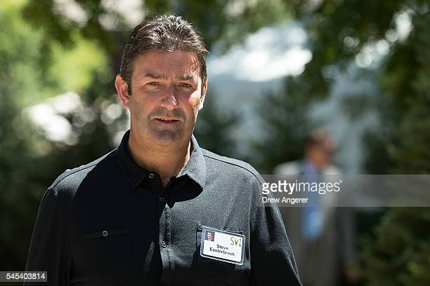 Steve Easterbrook chief executive officer of McDonald's attends the annual Allen Company Sun Valley Conference July 7 2016 in Sun Valley Idaho Every...