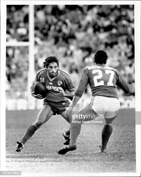 Parramatta versus South Sydney at Sydney Stadium May 21 1988