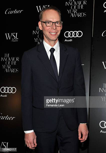 Steve Ells attends the 2011 WSJ Magazine Innovator of the Year Awards at the Museum of Modern Art on October 27 2011 in New York City