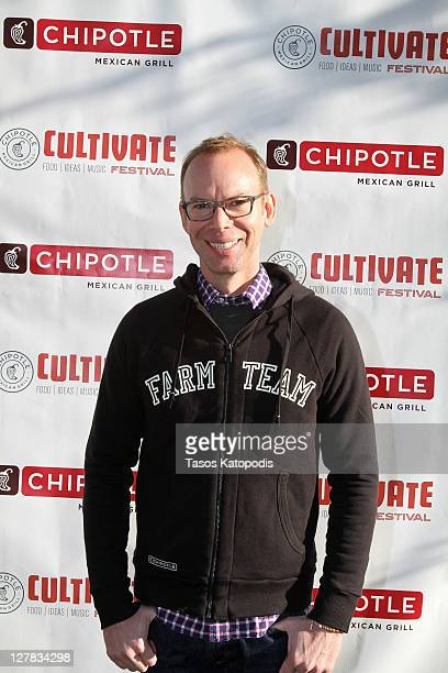 Steve Ells founder and coCEO of Chipotle Mexican Grill attends 'Cultivate Chicago' a culinary celebration presented by Chipotle at Lincoln Park on...