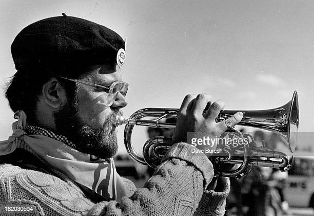 SEP 15 1983 OCT 16 1983 MAR 15 1992 Steve Eulberg From Denver one of the 35 Buglers who played taps at Rocky Flats They were a mile or a little more...