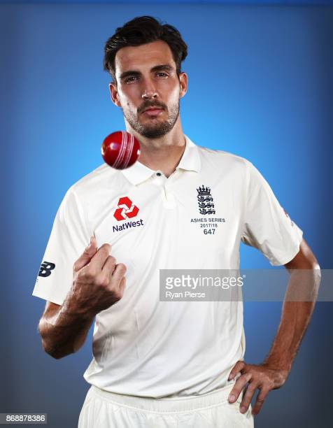 Steve Finn of England poses during the 2017/18 England Ashes Squad portrait session on November 1 2017 in Perth Australia