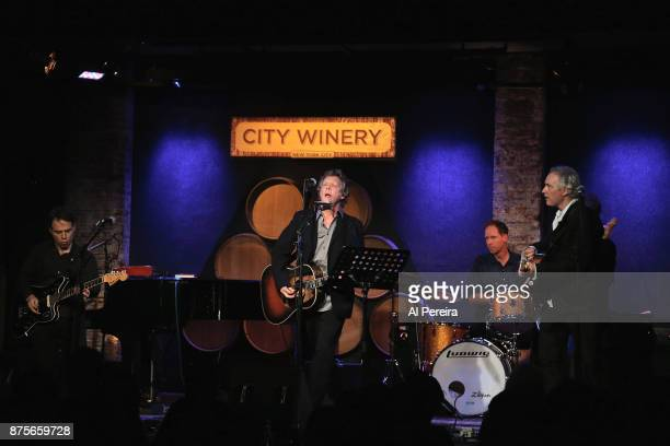 Steve Forbert performs as part of Wesley Stace's Cabinet of Wonders variety show at City Winery on November 17, 2017 in New York City.