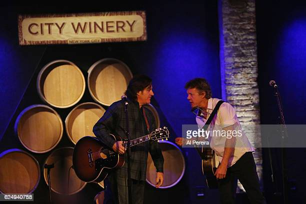 Steve Forbert performs at City Winery on November 20, 2016 in New York City.
